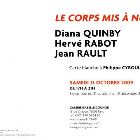 2009-Carte blanche à Philippe Cyroulnik-verso