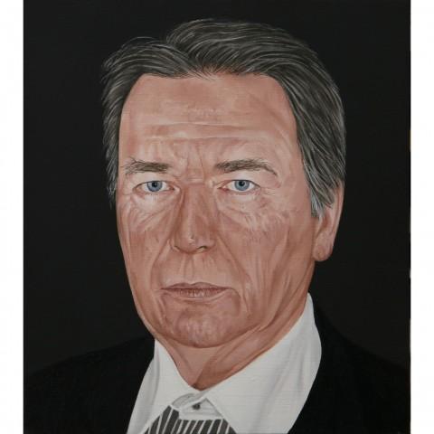 Anthony Vérot. Portrait de Jean Rault. Huile sur toile