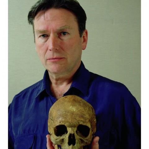 Autoportrait au crâne-1997