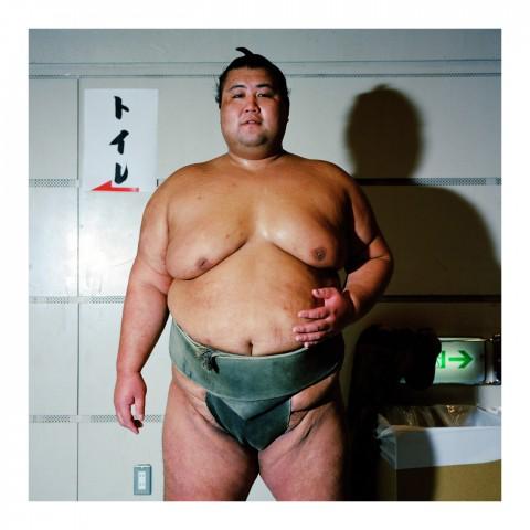 De la série Sumo portraits-03-Tokyo-2000