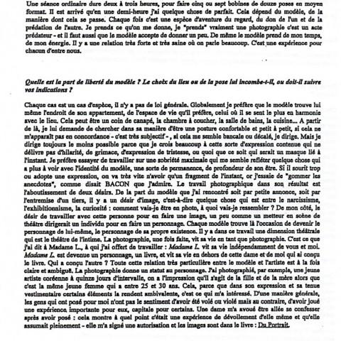 Entretiens Galerie D.004