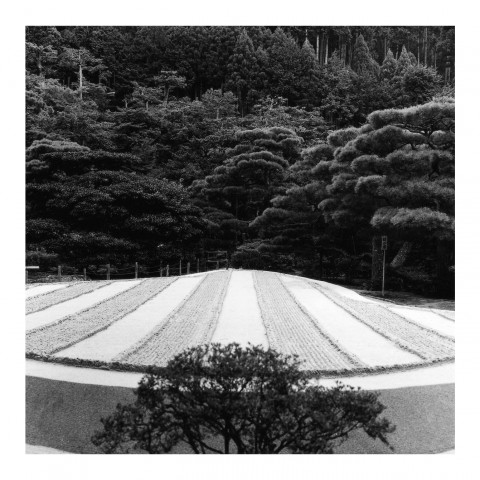 Ginkaku-ji vue2. Kyoto 2000