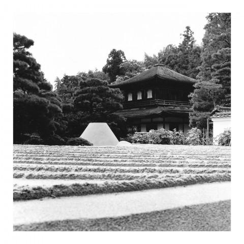 Ginkaku-ji vue3, Kyoto 2000