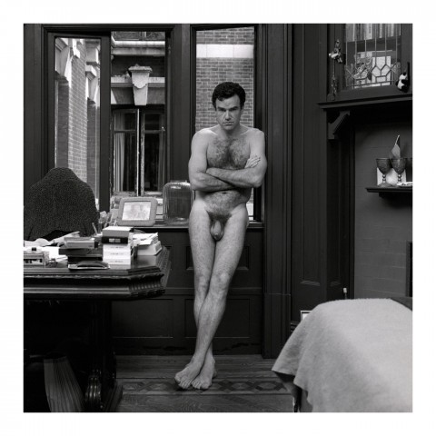Homme dans son bureau. NYC, 1989