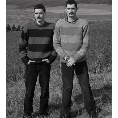 Jumeaux dans la campagne. 1986