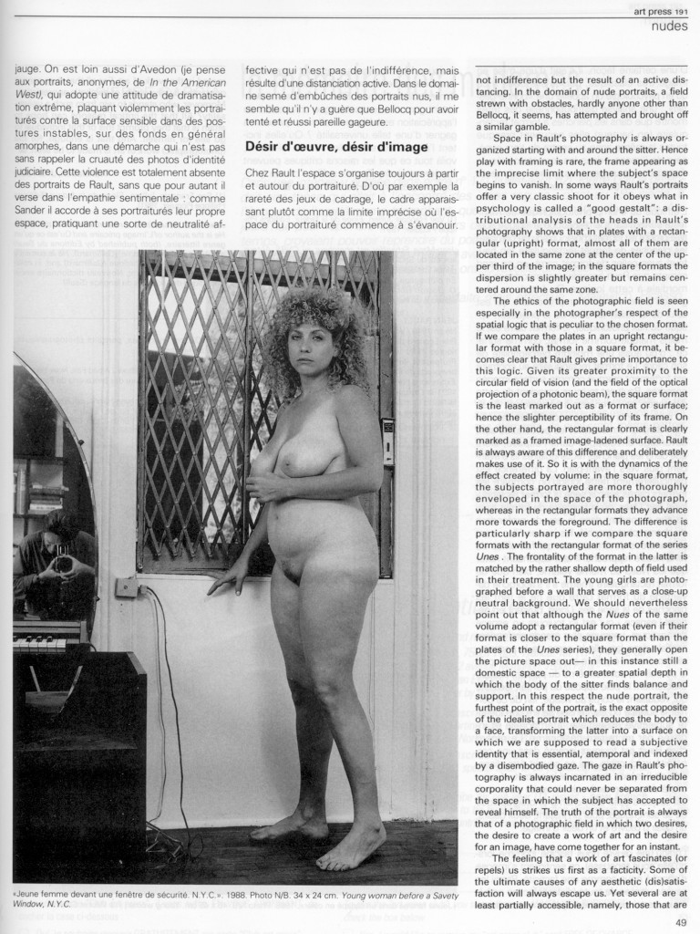 Jean Marie Schaeffer-Art Press mai 94 p. 4