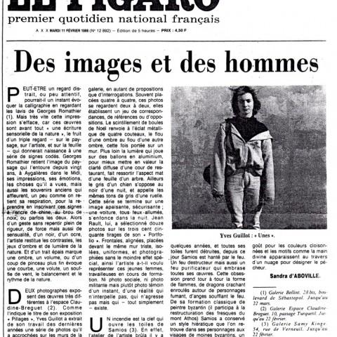 1986 02-Le Figaro