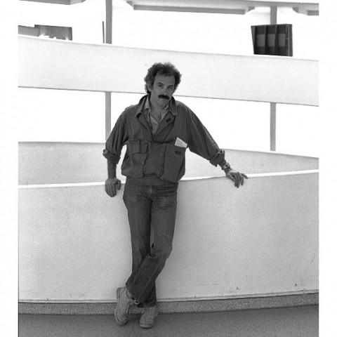 300-Bill Lulow au Guggenheim museum. 5th av.NYC. 1986