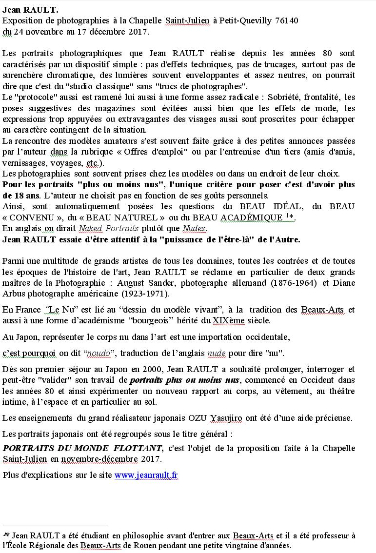 Jean Rault-TXT-La Chapelle