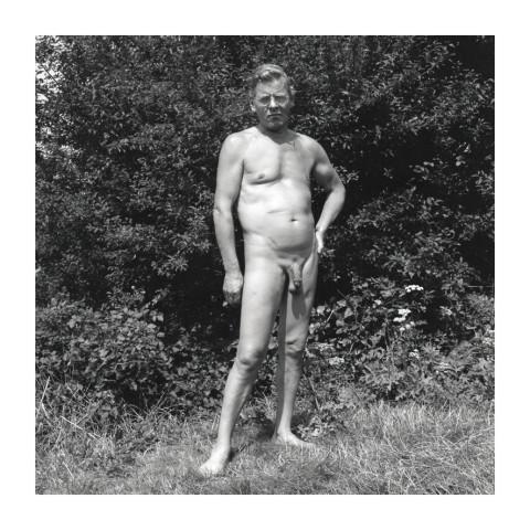 170-Homme devant un bosquet-1992