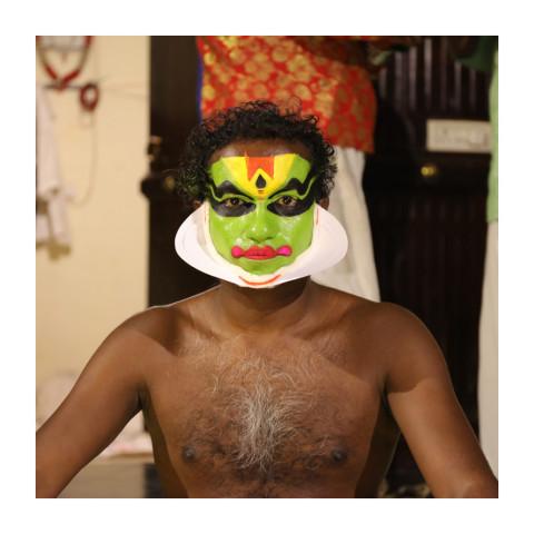 280-Danseur Kathakali-Kochi-Inde-2018