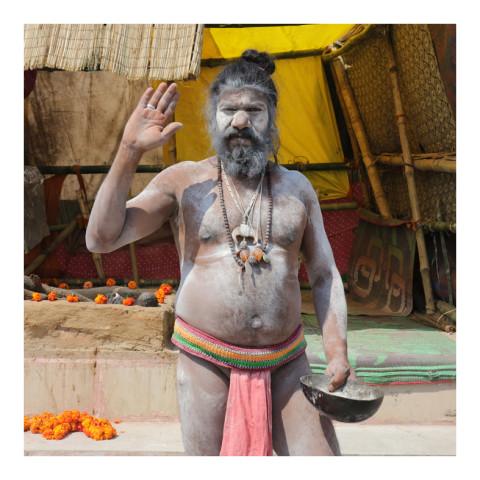 280-De la série Sadhus et Renonçants-Varanasi-2019-416A3114