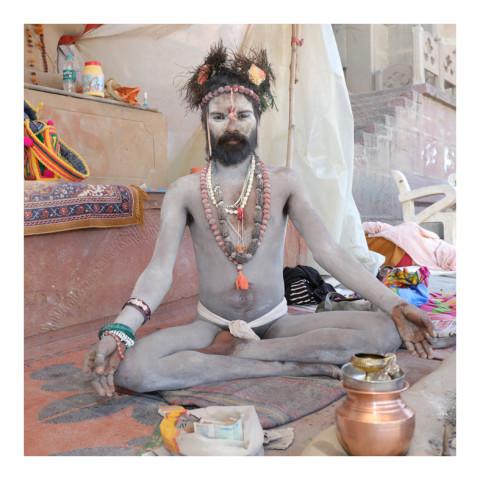 280-De la série Sadhus et Renonçants-Varanasi-2019-416A3119