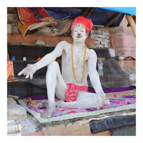 280-De la série Sadhus et Renonçants-Varanasi-2019-416A3157