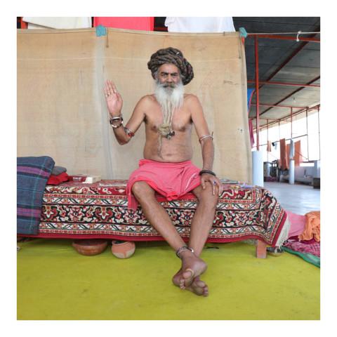 280-De la série Sadhus et Renonçants-Varanasi-2019-(Om Giri)-416A3174