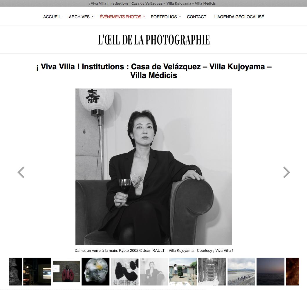 2019 10 L'Oeil de la Photographie-Villa Kujoyama
