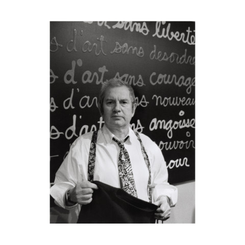 Portrait de Ben. Paris, décembre 1998