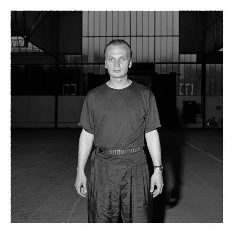 Portrait de Grzegorz Ciechowski-musicien fondateur de Obywatel(Pologne)-1989