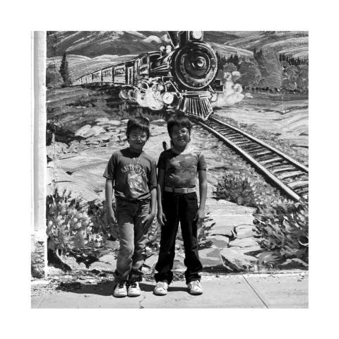 Twins, Antonito. Colorado 1989-Portraits américains réalisés en marge de la série Du Portrait publiée chez Marval en 1992